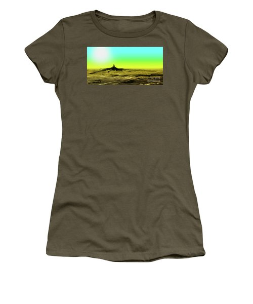 Spilling Women's T-Shirt (Athletic Fit)