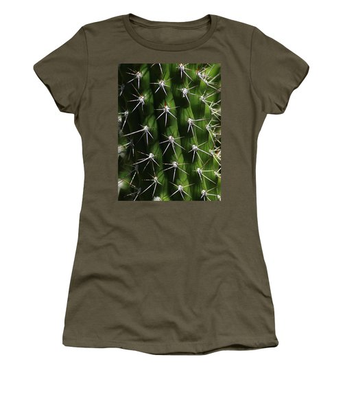Spine Field Women's T-Shirt (Athletic Fit)