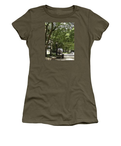 Spinning Cube On Campus Women's T-Shirt