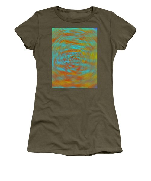 Women's T-Shirt (Junior Cut) featuring the photograph Spinning Out Of Control by Lenore Senior