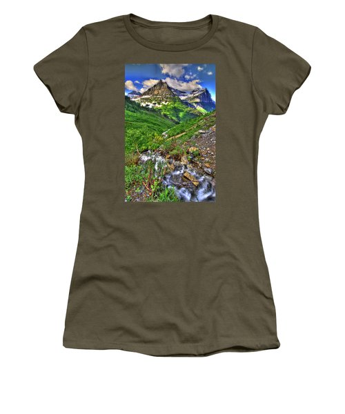 Spires And Stream Women's T-Shirt (Athletic Fit)