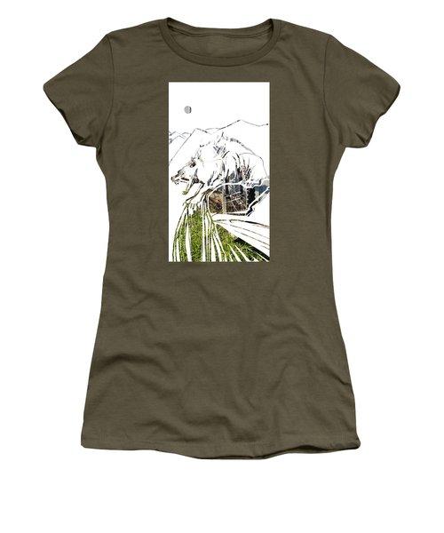 Spirit Animal . Wolverine Women's T-Shirt