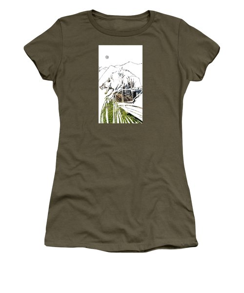 Spirit Animal . Wolverine Women's T-Shirt (Athletic Fit)