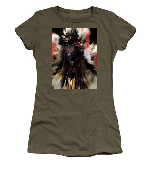 Spirited Dancer Women's T-Shirt (Junior Cut) by Audrey Robillard