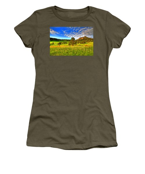 Spiritual Sky Women's T-Shirt (Athletic Fit)