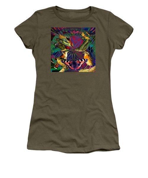 Spiritual Sun Behind The Sun Women's T-Shirt (Junior Cut) by Joseph Mosley