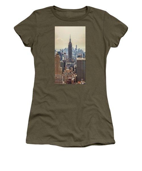 Sprawling Urban Jungle Women's T-Shirt (Junior Cut) by Az Jackson