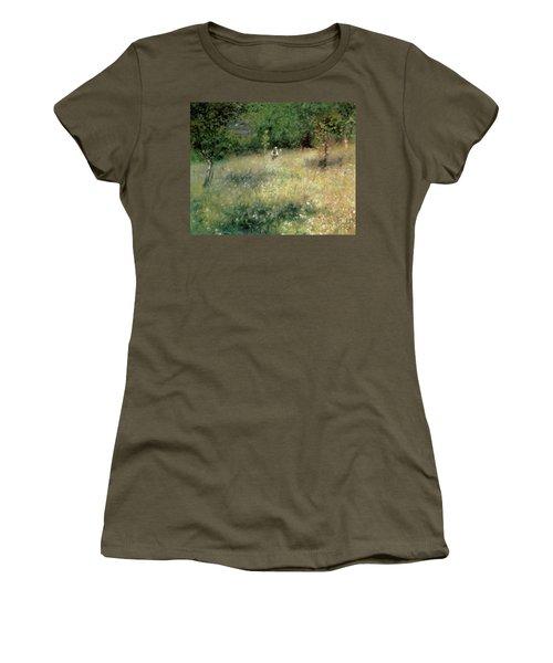 Spring At Chatou Women's T-Shirt