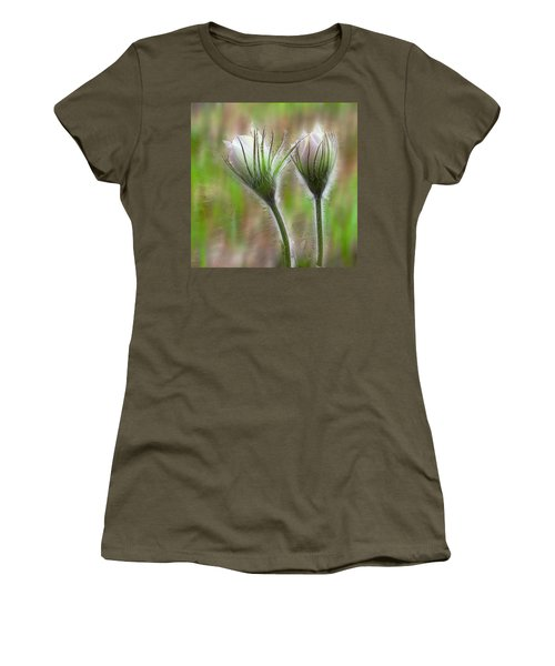Women's T-Shirt (Junior Cut) featuring the photograph Spring Flowers by Vladimir Kholostykh