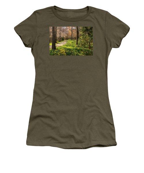 Spring Garden Path Women's T-Shirt