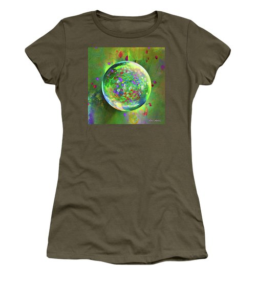 Spring Green Women's T-Shirt (Athletic Fit)