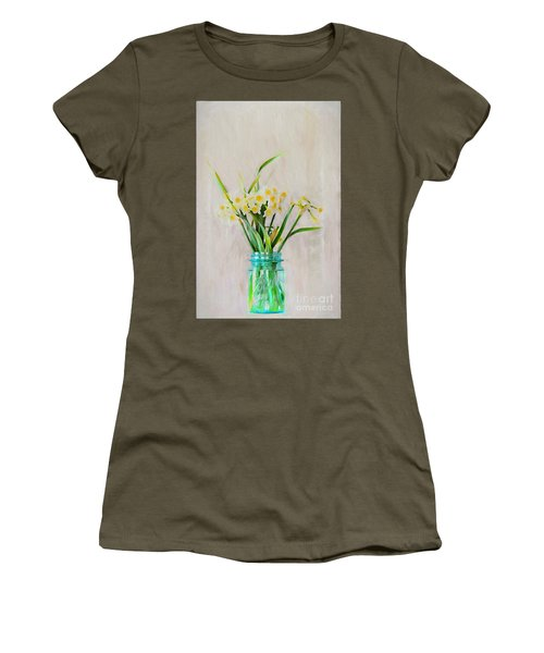 Women's T-Shirt (Junior Cut) featuring the photograph Spring In The Country by Benanne Stiens