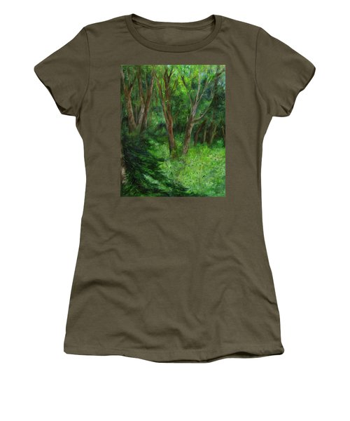 Spring In The Forest Women's T-Shirt