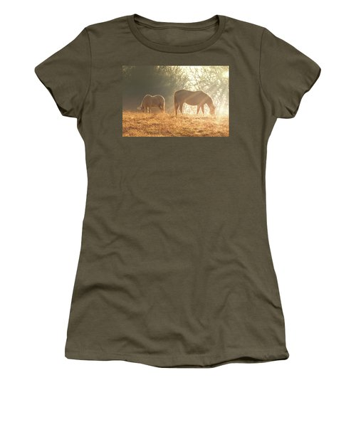 Women's T-Shirt featuring the photograph Spring Morning In The Ozarks by Allin Sorenson