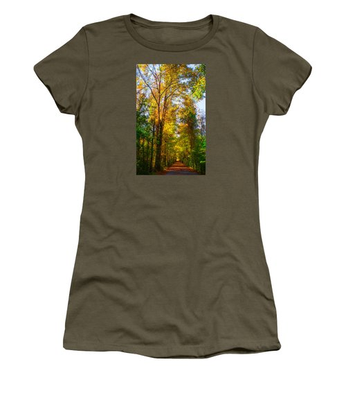 Spring Path Women's T-Shirt (Junior Cut) by Parker Cunningham