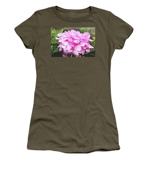 Women's T-Shirt (Athletic Fit) featuring the photograph Spring Serenade  by Trina Ansel