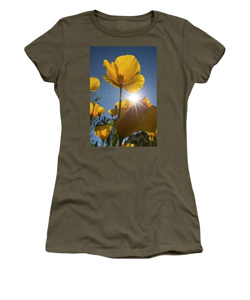 Spring Starburst Women's T-Shirt (Athletic Fit)