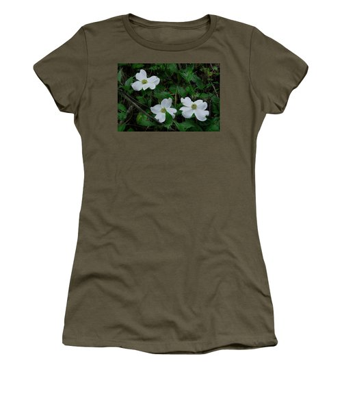 Women's T-Shirt (Junior Cut) featuring the photograph Spring Time Dogwood by Mike Eingle