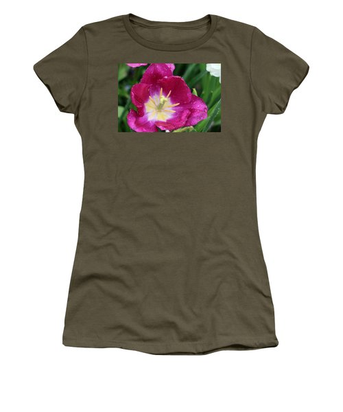 Spring Tulips 47 Women's T-Shirt (Athletic Fit)