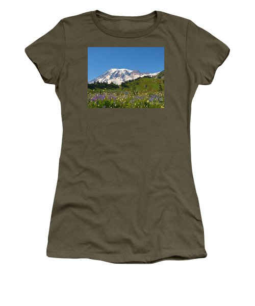 Springtime At Paradise 2 Women's T-Shirt (Athletic Fit)
