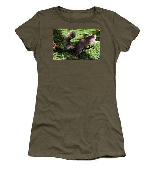 Squirrel Running Women's T-Shirt
