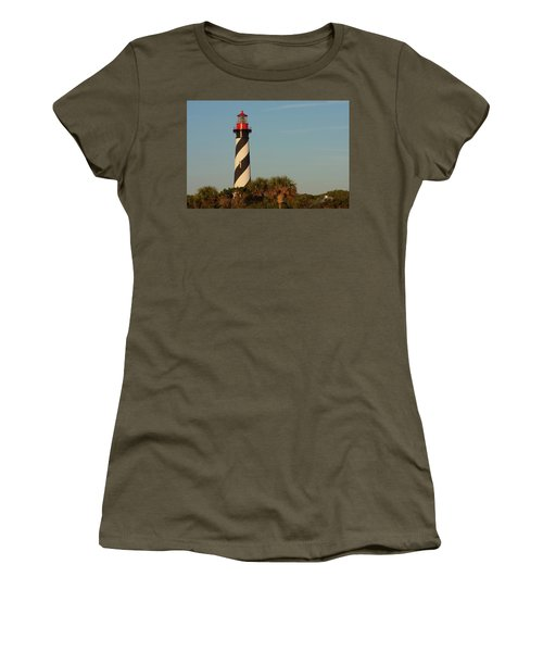 St. Augustine Lighthouse #3 Women's T-Shirt (Athletic Fit)