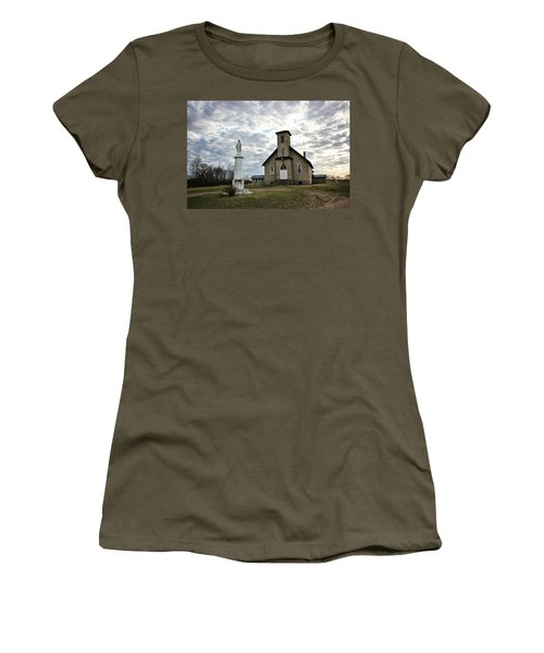St Hubert Women's T-Shirt (Junior Cut) by Ryan Crouse