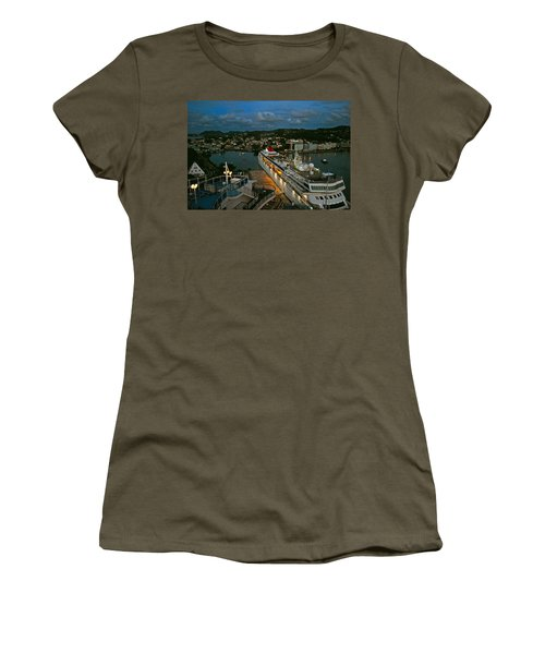 St. Lucia In The Evening Women's T-Shirt