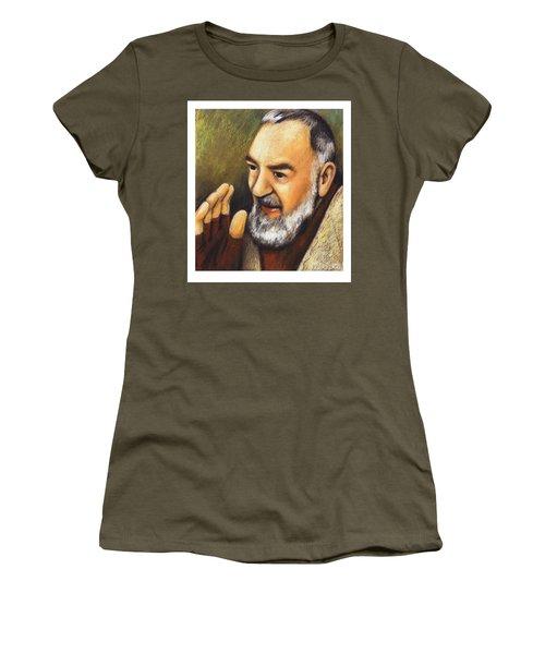 St. Padre Pio Of Pietrelcina - Jlpio Women's T-Shirt