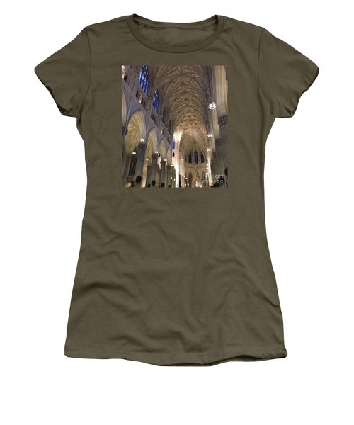 St. Patricks Cathedral Main Interior Women's T-Shirt