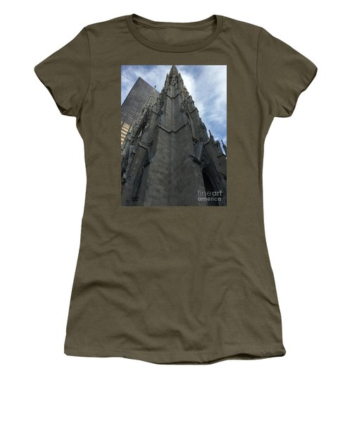 St. Patricks Cathedral Perspective Women's T-Shirt