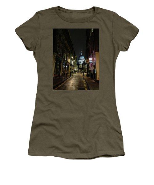 St. Pauls By Night Women's T-Shirt