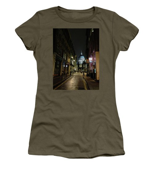 St. Pauls By Night Women's T-Shirt (Athletic Fit)
