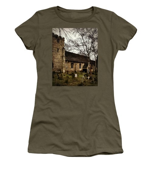 Women's T-Shirt (Junior Cut) featuring the photograph St. Thomas The Martyr by Persephone Artworks
