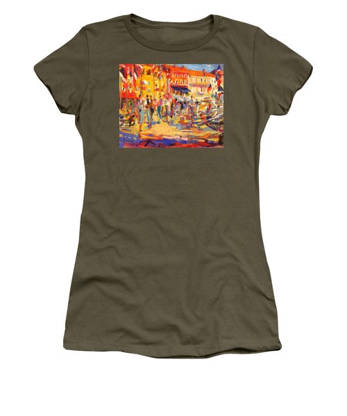 St Tropez Promenade Women's T-Shirt