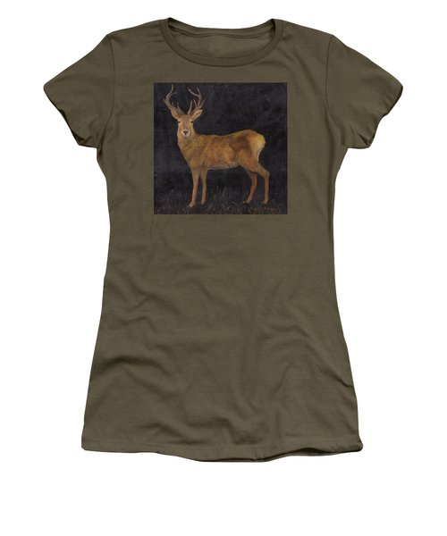 Stag Women's T-Shirt (Athletic Fit)