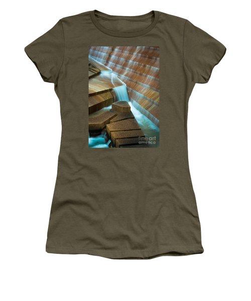 Staircase Fountain Women's T-Shirt