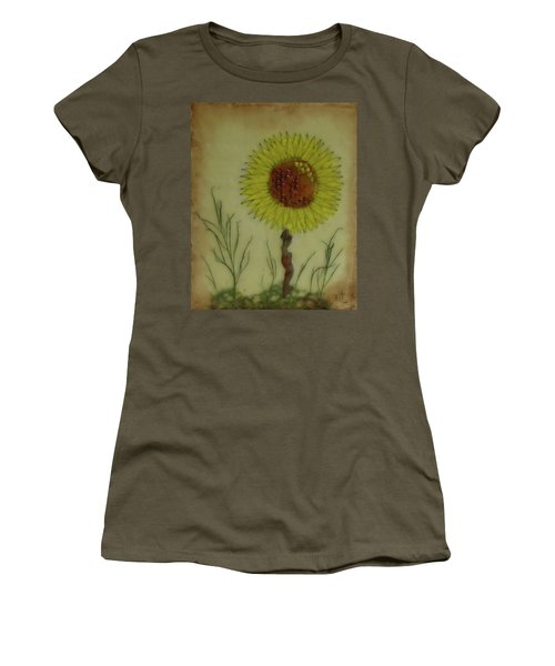 Standing At Attention Women's T-Shirt (Junior Cut) by Terry Honstead