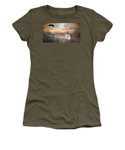 Standing By My Word Women's T-Shirt (Junior Cut) by Betsy Knapp