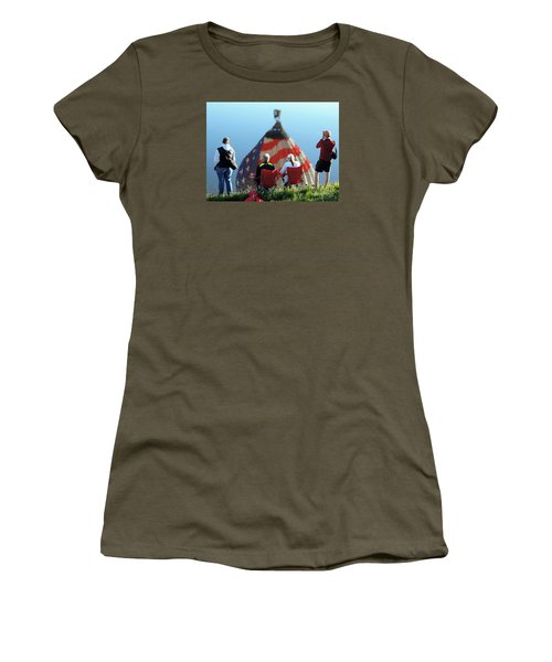 Star Spangled Morning Women's T-Shirt (Athletic Fit)