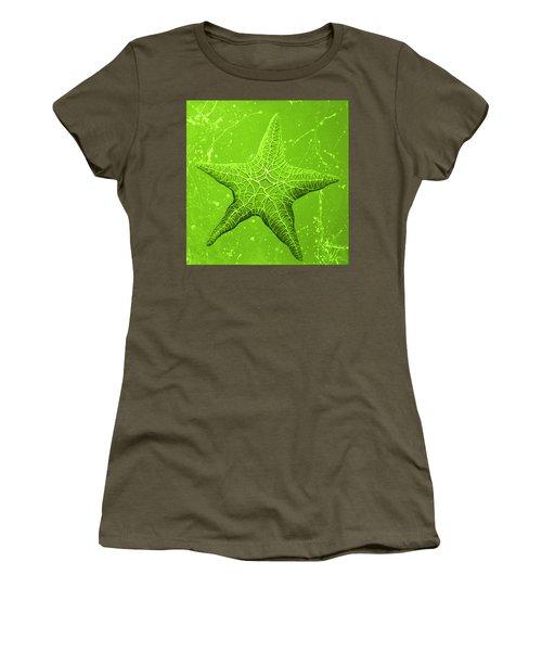 Starfish In Green Women's T-Shirt