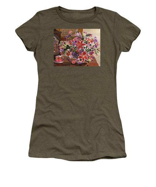 Stargazer Lilies Women's T-Shirt