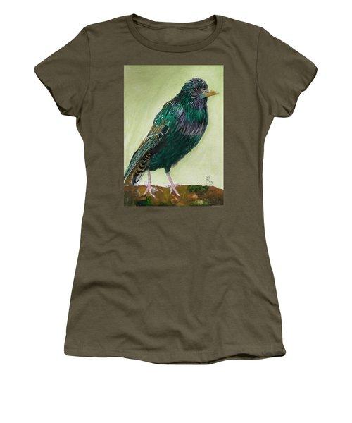 Starling Women's T-Shirt (Junior Cut) by Carole Robins