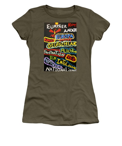 State Of Europe Women's T-Shirt (Athletic Fit)