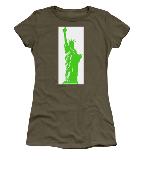 Statue Of Liberty No. 9-1 Women's T-Shirt (Athletic Fit)