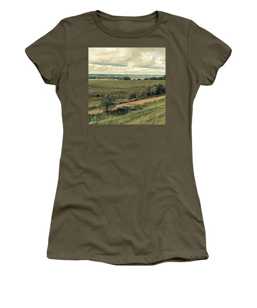 Stausee Kelbra  #nature  #flowers Women's T-Shirt (Junior Cut) by Mandy Tabatt