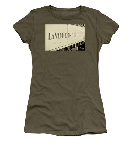 Women's T-Shirt featuring the photograph Steam Train Series No 34 by Clare Bambers