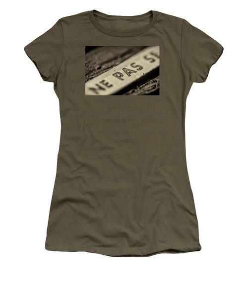 Women's T-Shirt featuring the photograph Steam Train Series No 35 by Clare Bambers