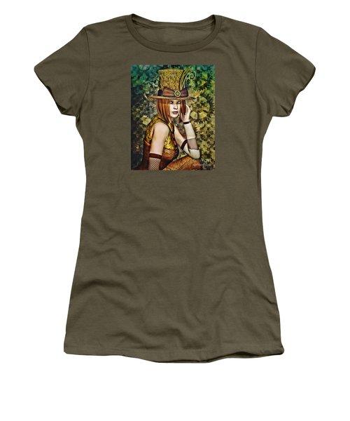 Steampunk Girl Two Women's T-Shirt