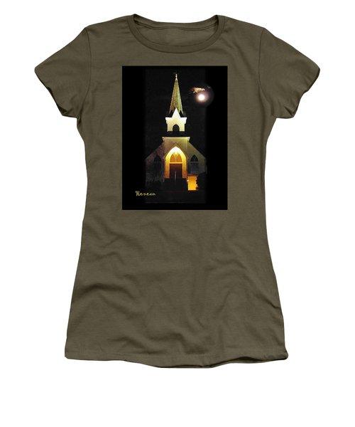 Steeple Chase 3 Women's T-Shirt (Junior Cut) by Sadie Reneau